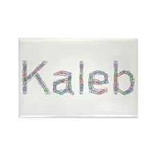 Kaleb Paper Clips Rectangle Magnet