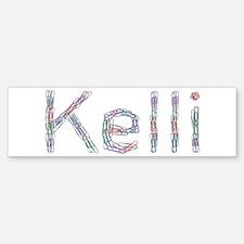 Kelli Paper Clips Bumper Bumper Bumper Sticker