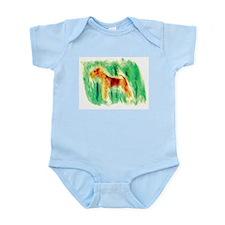 Watercolor Lakeland Infant Bodysuit