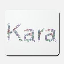 Kara Paper Clips Mousepad