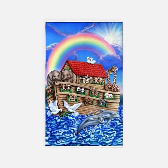 Noah's Ark 3'x5' Area Rug