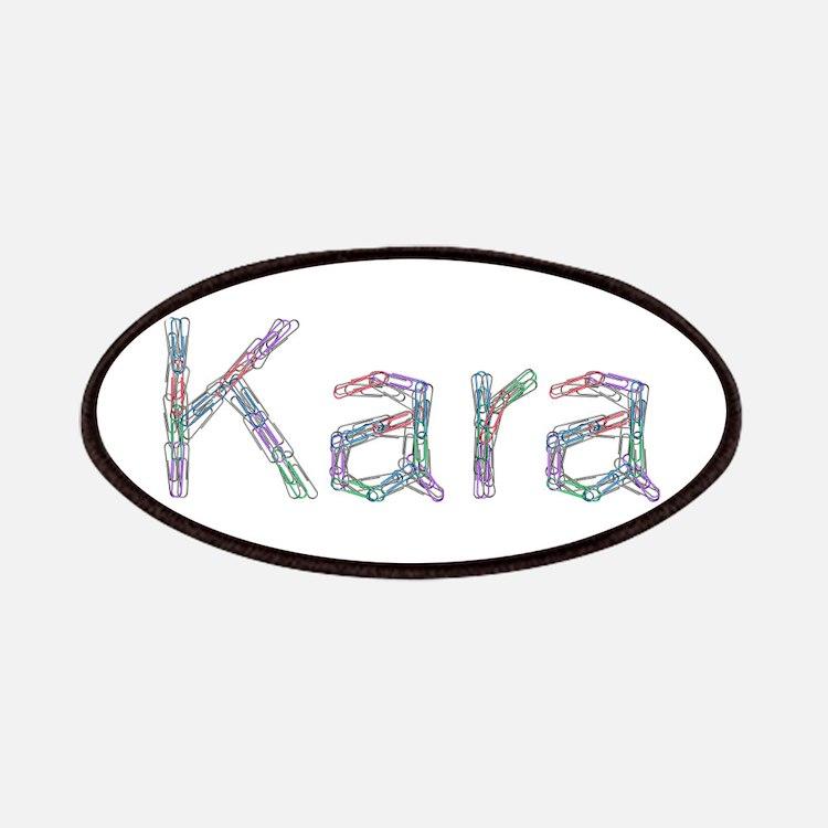 Kara Paper Clips Patch