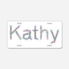 Kathy Paper Clips Aluminum License Plate