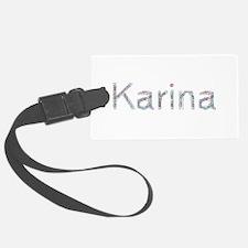 Karina Paper Clips Luggage Tag