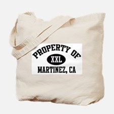 Property of MARTINEZ Tote Bag
