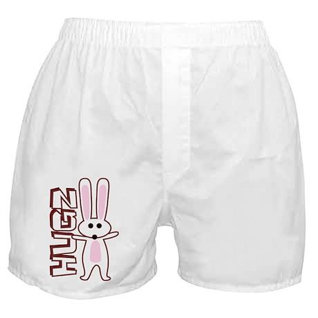 Bunny Hugz Hugs Cute Easter Design Boxer Shorts