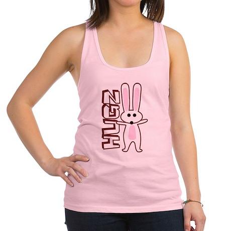 Bunny Hugz Hugs Cute Easter Design Racerback Tank