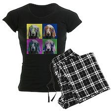 Weimaraner a la Warhol Pajamas
