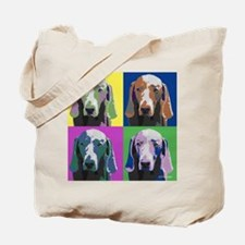 Weimaraner a la Warhol Tote Bag