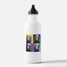 Weimaraner a la Warhol Water Bottle