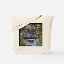 Cosmic Landscape Tote Bag