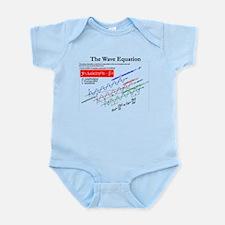The Wave Equation Infant Bodysuit