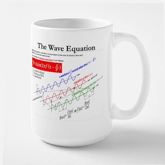 The Wave Equation Large Mug