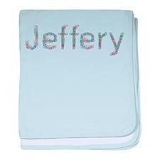 Jeffery Paper Clips baby blanket