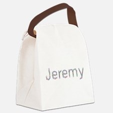 Jeremy Paper Clips Canvas Lunch Bag