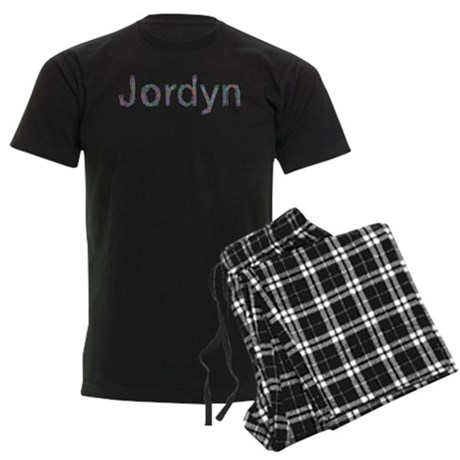 Jordyn Paper Clips Men's Dark Pajamas