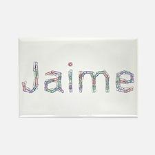 Jaime Paper Clips Rectangle Magnet