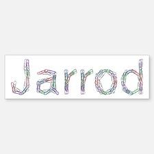 Jarrod Paper Clips Bumper Bumper Bumper Sticker