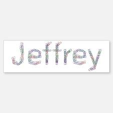 Jeffrey Paper Clips Bumper Bumper Bumper Sticker