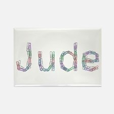 Jude Paper Clips Rectangle Magnet