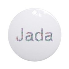 Jada Paper Clips Round Ornament