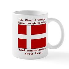 Danish Viking & Beer Left Hand Mug