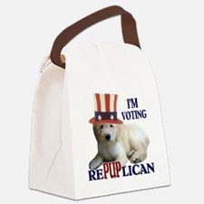 RePUPlican Goldendoodle Canvas Lunch Bag