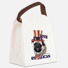 rePUGlican for darks.png Canvas Lunch Bag