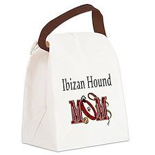 ibizan hound mom darks.png Canvas Lunch Bag