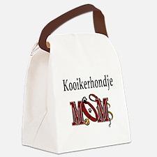 kooikerhondje mom darks.png Canvas Lunch Bag