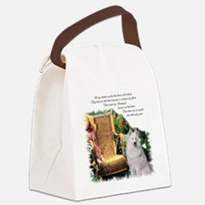 Samoyed Art Canvas Lunch Bag