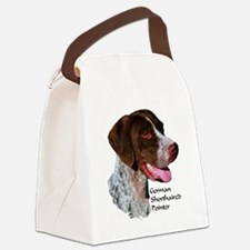 German Shorthaired Pointer Canvas Lunch Bag