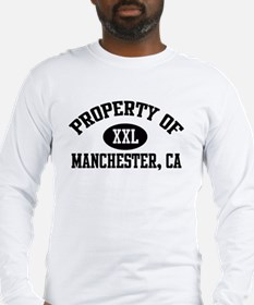 Property of MANCHESTER Long Sleeve T-Shirt