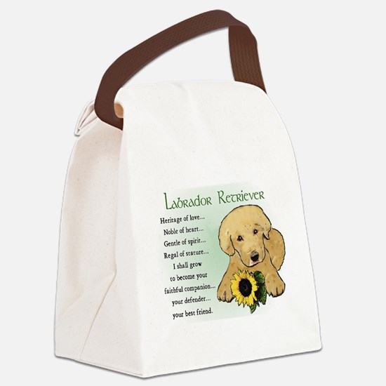 yellow lab pup heritage redo 3.png Canvas Lunch Ba