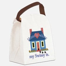 greater swiss home is.png Canvas Lunch Bag