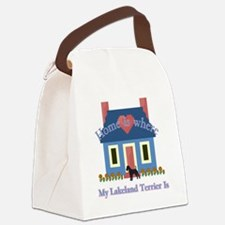 Lakeland Terrier Home Canvas Lunch Bag