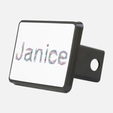 Janice Paper Clips Hitch Cover