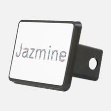 Jazmine Paper Clips Hitch Cover