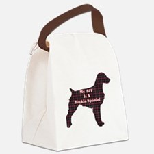 BFF Boykin Spaniel Canvas Lunch Bag