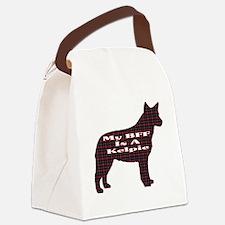 BFF Australian Kelpie Canvas Lunch Bag