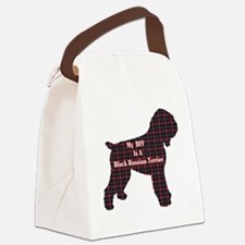 BFF Black Russian Terrier Canvas Lunch Bag