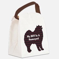 BFF Samoyed Canvas Lunch Bag