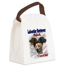 lab usa state of mind.png Canvas Lunch Bag