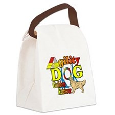 golden agility f.png Canvas Lunch Bag