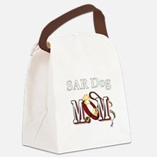 SAR Dog Mom Canvas Lunch Bag