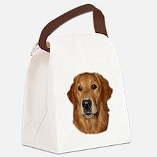golden head study Canvas Lunch Bag