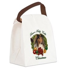 Christmas darin apparel.png Canvas Lunch Bag