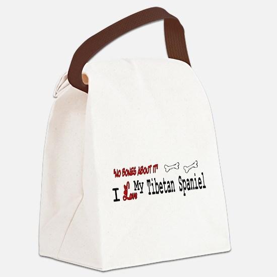 NB_Tibetan Spaniel Canvas Lunch Bag