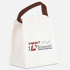 NB_Xoloitzcuintli Canvas Lunch Bag