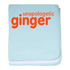 Unapologetic Ginger baby blanket
